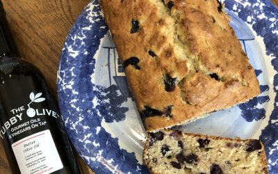 Buttery Blueberry Banana Bread