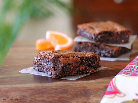 Chocolate-Orange Brownies