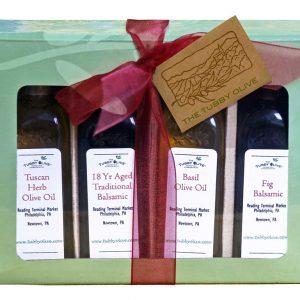 Sampler_Four Bottle_The Tubby Olive