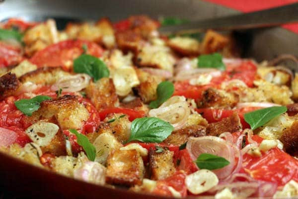 Sliced Tomatoes Gratin